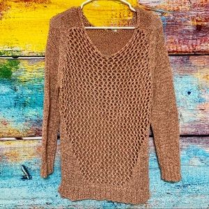 Maurices Shiny Weave Sweater NWOT